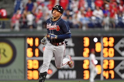 Johan Camargo gets second straight start in the outfield against the Phillies