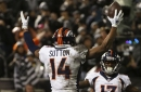 Courtland Sutton was the Broncos bright spot