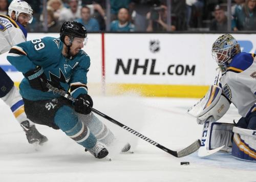 Logan Couture named new San Jose Sharks captain