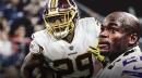 Redskins RB Adrian Peterson 'held back tears' after Derrius Guice injury