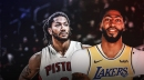 Lakers' Anthony Davis views Detroit guard Derrick Rose as a 'legend'