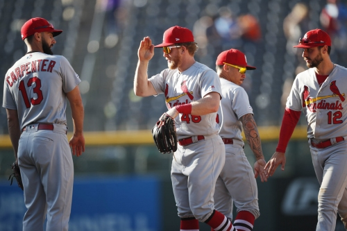 A homer-happy rout sends Cardinals home for playoff push vs. Milwaukee