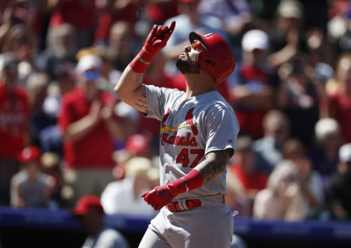 Being measured for pinch-hit role, rookie Ravelo launches 487-foot home run