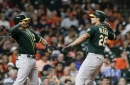 Athletics win thriller in Houston, take tough series 3-1 and top wild card spot for now