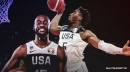 Team USA's Donovan Mitchell upset by video analysis implying rift with Kemba Walker