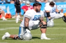 Taylor Decker misses Detroit Lions practice with back injury