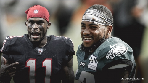 Eagles WR DeSean Jackson looking to outshine Julio Jones in Week 2 showdown