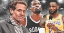 Skip Bayless thinks Lakers' LeBron James should be out of SI's Top 10; Nets' Kevin Durant No.1
