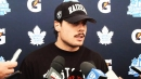 Maple Leafs' Auston Matthews happy for Mitch Marner, now let's play hockey