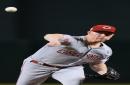Anthony DeSclafani tosses a 1-hitter in Cincinnati Reds loss to Arizona Diamondbacks