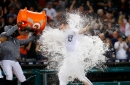 Detroit Tigers give sparse crowd thrills, win on John Hicks' grand slam in 12 innings