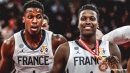 Frank Ntilikina says he has 'that feeling back' after France wins bronze at World Cup