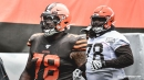 Browns' Greg Robinson fined for kicking player
