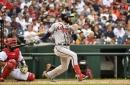 Braves lineup goes for jugular, sweep on Sunday