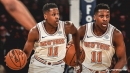 Frank Ntilikina says he feels New York fans' support everyday