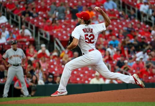 Wacha gets start as Cardinals wrap up series with Brewers at Busch