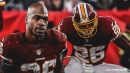 Redskins' Adrian Peterson moves into fifth all-time in career rushing TDs