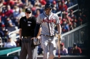 Oh well: Braves fail to sweep Nats again, drubbed 7-0
