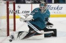 "Sharks camp: Pete DeBoer says Aaron Dell ""needs to deliver"""
