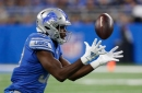 Detroit Lions' Kerryon Johnson knew one thing on bobbled-ball TD: 'I better catch it'