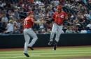 Eugenio Suárez blasts 2 home runs in Cincinnati Reds win, tied for MLB lead