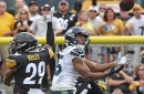 Another controversial replay review by Alberto Riveron goes against the Steelers