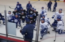 Maple Leafs cut to the chase as training camp battles heat up