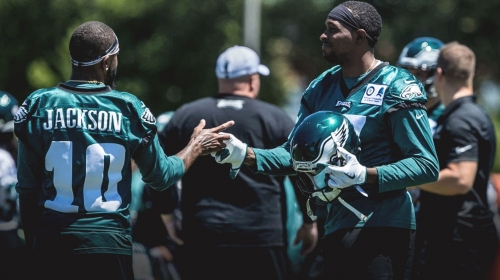 Eagles lose both DeSean Jackson, Alshon Jeffrey to injury vs. Falcons