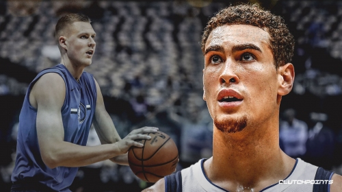 Mavs' Dwight Powell reveals Kristaps Porzingis is 'looking very good', excited to finally see him play