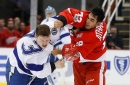 Adam Erne sees an opportunity with Detroit Red Wings