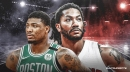 Celtics' Marcus Smart reacts to Derrick Rose's shoutout in autobiography
