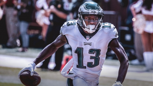 Eagles WR Nelson Agholor takes blame for loss to Falcons