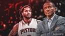 Pistons coach Dwane Casey thinks how hard Derrick Rose plays 'will set the tone with the rest of our team'
