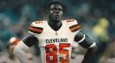 Browns' David Njoku tweets update after leaving game vs. Jets for concussion test