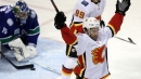 Flames' Czarnik notches pair in exhibition win over Canucks in B.C.