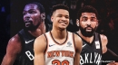 Knicks' Kevin Knox says Kevin Durant, Kyrie Irving going to Nets adds 'fuel to the fire' of rivalry