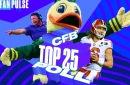 Ducks at #16 in FanPulse Poll Heading into Stanford Game