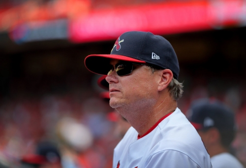 Shildt uses same Cardinals lineup for fifth game in succession