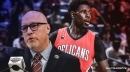 Jrue Holiday claims atmosphere around Pelicans has been 'different' since David Griffin took over