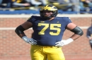 Michigan left tackle Jon Runyan Jr. expected to play at Wisconsin