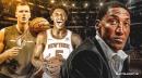 Scottie Pippen disagrees with Knicks' RJ Barrett targeting Kristaps Porzingis for a poster dunk