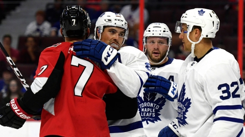 Leafs' Ceci, Senators' Zaitsev looking for reboot after swapping locker rooms