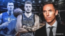Steve Nash calls Mavs' Luka Doncic, Kristaps Porzingis 'incredible difference-makers'