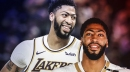 Anthony Davis says Lakers have unspoken goal of winning a title
