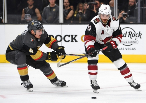 Could Vinnie Hinostroza be next up for a long-term contract with Arizona Coyotes?