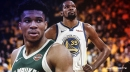 Giannis Antetokounmpo can take Kevin Durant precedent in mind when assessing Warriors in 2021