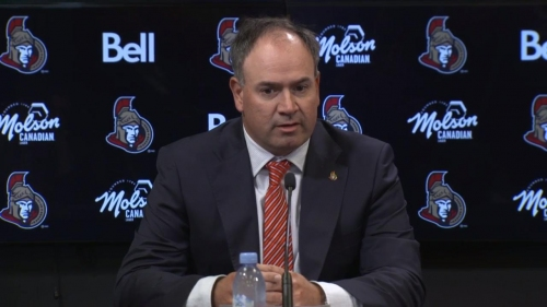 Dorion: Length of contract shows Chabot's commitment to Senators