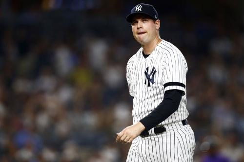 Why has Adam Ottavino struggled for the Yankees of late?