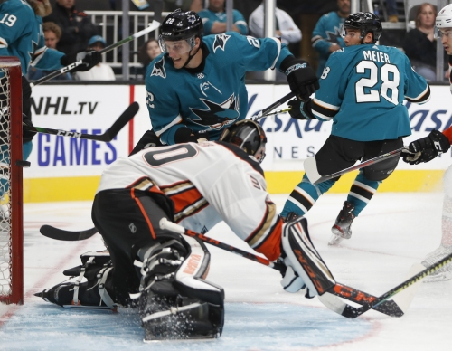 Projecting Sharks' 23-man roster: Who's trending, and who's fading