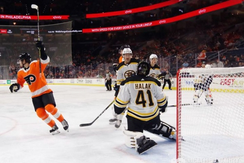 Bruins 3, Flyers 2: Another preseason game, another loss